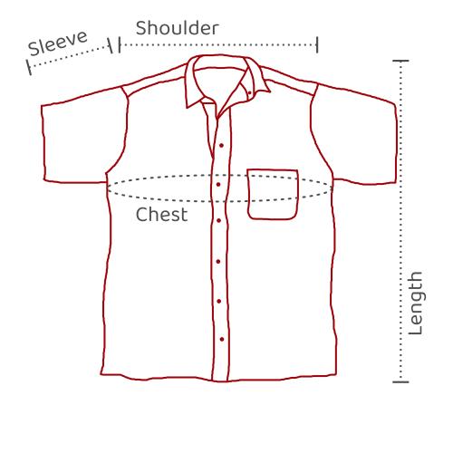 Men's Shirts – 1/2 Sleeves